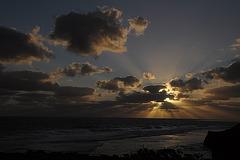 Sonnenuntergang in Gris Gris 1