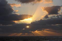 Sonnenuntergang in Gris Gris 2