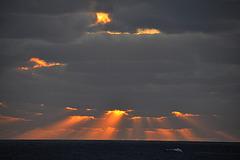 Sonnenuntergang in Gris Gris 3
