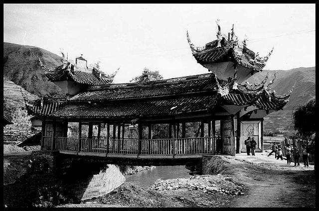 """Ancient """"Wind and Rain"""" Bridge"""