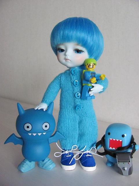 The ice blue boys