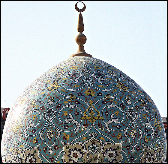 Decorated dome