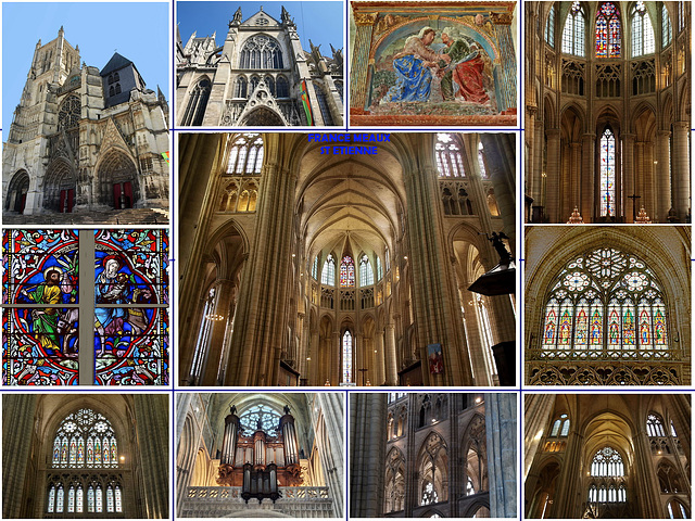 Meaux Cathedral St Etienne 1175-1540