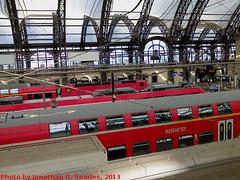 Dresden Hauptbahnhof, Dresden, Sachsen, Germany, 2013