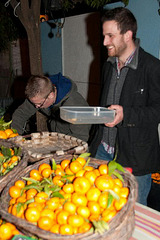 selling oranges and lemons to tourists