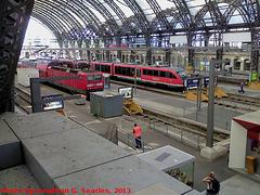 Dresden Hauptbahnhof, Picture 2, Dresden, Sachsen, Germany, 2013