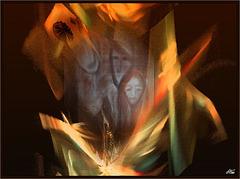 Peindre...........Et sculpter dans le marbre effrayant du destin......Il faut vivre d'amour, d'amitié, de défaites ......Donner à perte d'âme........ éclater de passion