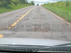 Etat des routes au Brésil