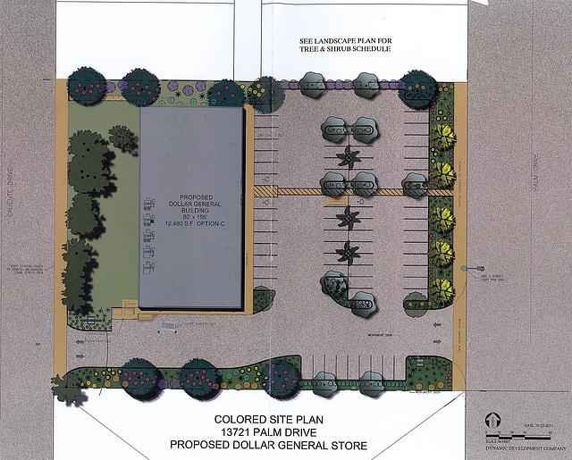 Dollar General Site Plan 2