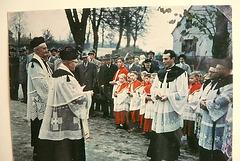 1958 - Amtseinführung des Pfarres in Balve - Sauerland
