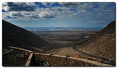 Aussicht Richtung Playa Blanca