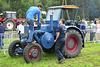 Oldtimerfestival Ravels 2013 – Lanz Bulldog tractor