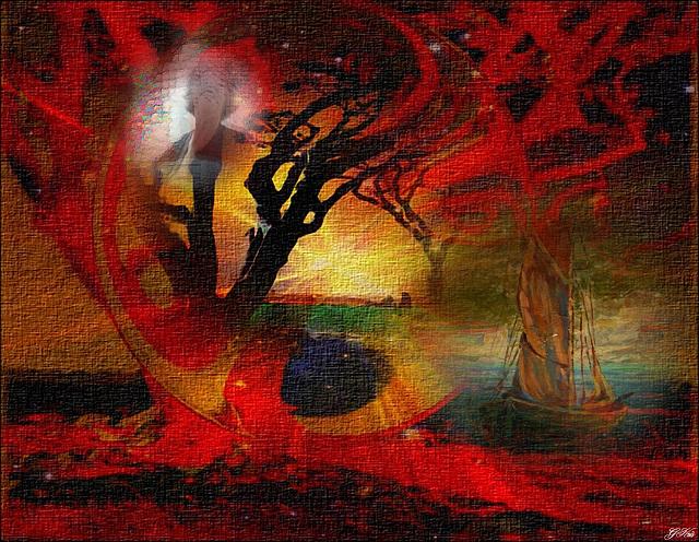 Surprendre.................... Traverser les brouillards de l'imagination...........  Déguiser le réel de lambeaux d'abstraction