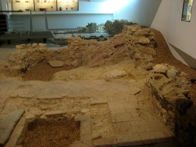 Tavira, Pousada do Convento da Graça, Moorish ruins