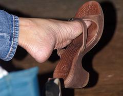 milf foot