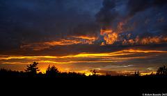Le soleil peint les nuages