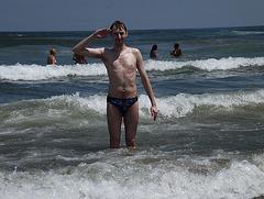 Moi à Praia Grande