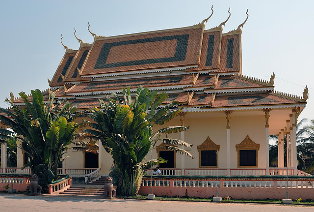 Wat Thmei the New Temple on the Killing Fields