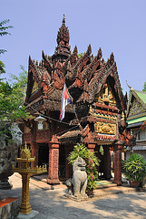 An holy shrine at Preah Ang Thom