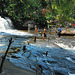 First waterfall of Siem Reap River