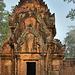 A library in Banteay Srei