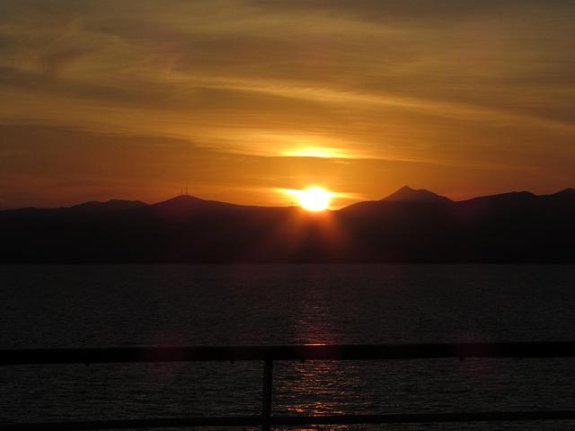 IMG 4452 Sunset over Fuerteventura