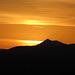 Sunset behind Fuerteventura