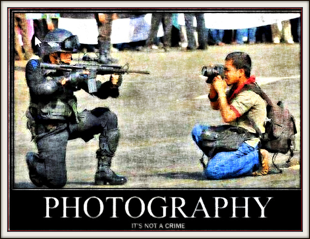 Photography - It's Not a Crime