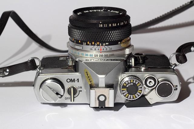 Olympus OM1 MD + Olympus F-Zuiko AUTO-S 50mm f/1.8