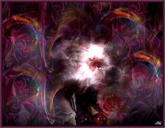 Quand ses parfums sombres............ Tournent autour de nous ...............On se mélange................ c'est tout.