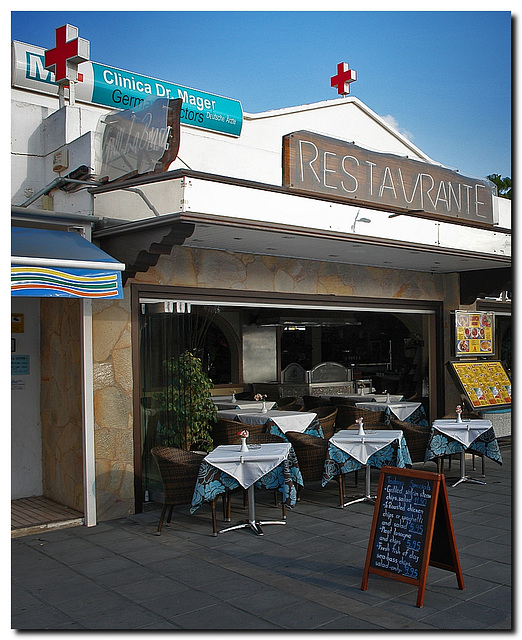 Dr. Mager's Klinik-Restaurant {;-)