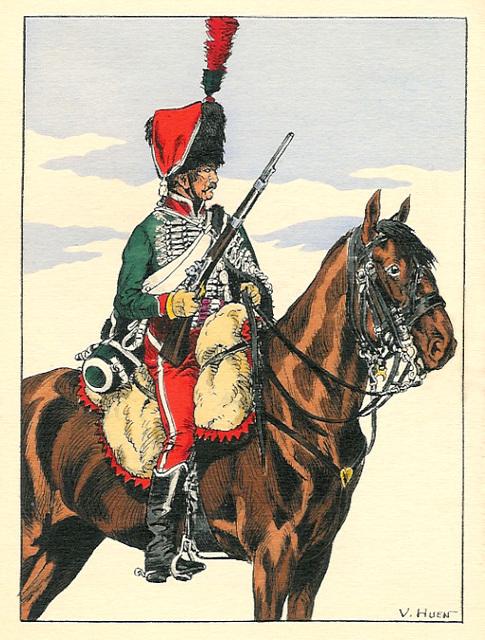 franca husaro, 1804 - laŭ Vikipedio