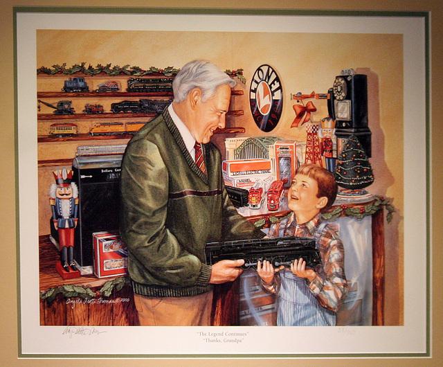San Diego Model Railroad Museum Christmas Display (2066)
