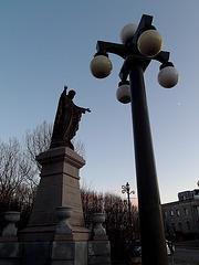 Sacré-Coeur du lampadaire / Street lamp Sacred Heart - 30 novembre 2011