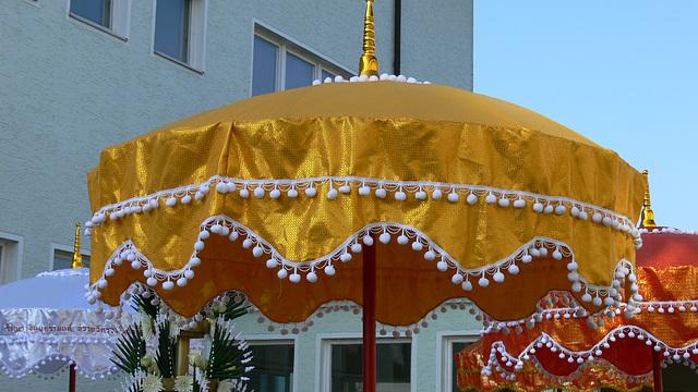 thailändische Schirme
