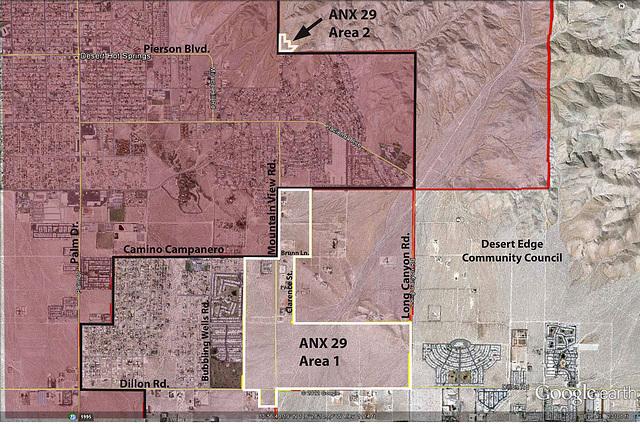 Annexation 29 Map