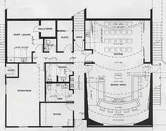 MSWD Lower Level Floor Plan detail
