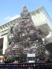 CD and DVD Geek tree Bangkok Christmas