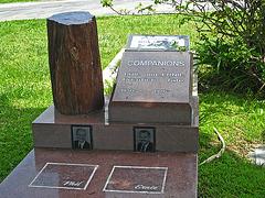 Phil Prentice & Ernie Tate gravesite - May 2011 (1854)