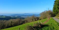 Vue sur le Charolais-Brionnais en Saône et Loire