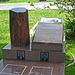 Phil Prentice & Ernie Tate gravesite - May 2011 (1855)