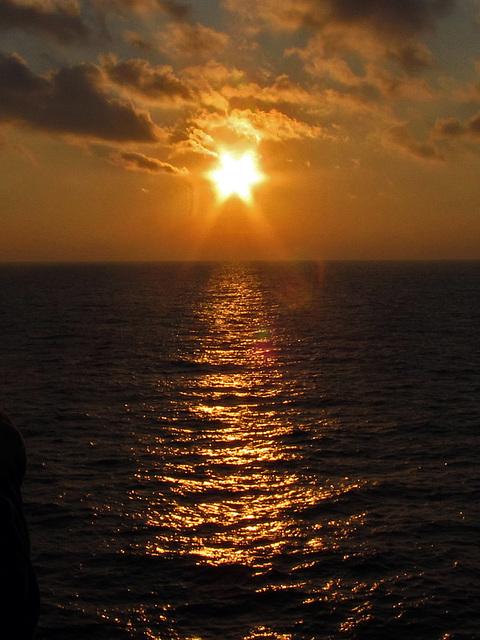 IMG 3972 Sunset auf See