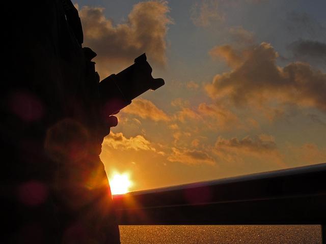 Sunset einmal anders