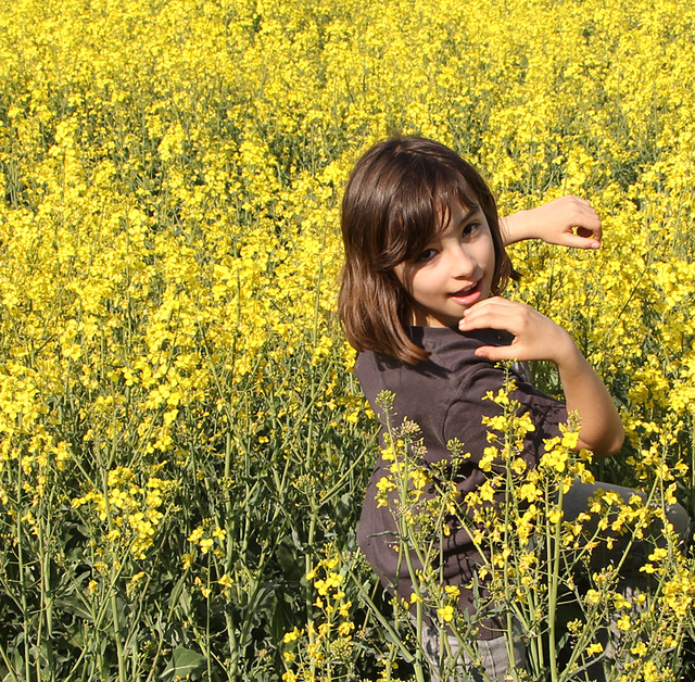 le printemps : Bettina