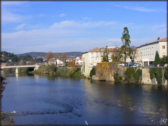 L'Aude à Limoux