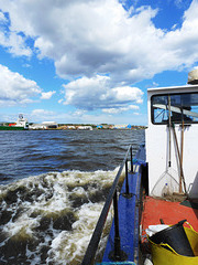 A short boat trip on the River Tyne