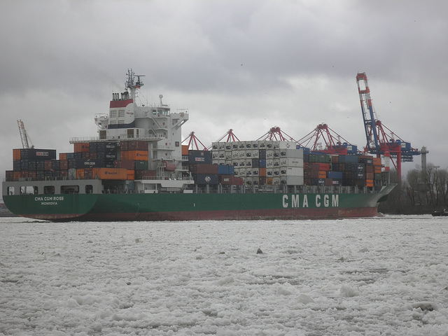 Containerschiff   CMA CGM   ROSE