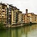 Der Arno in Florenz