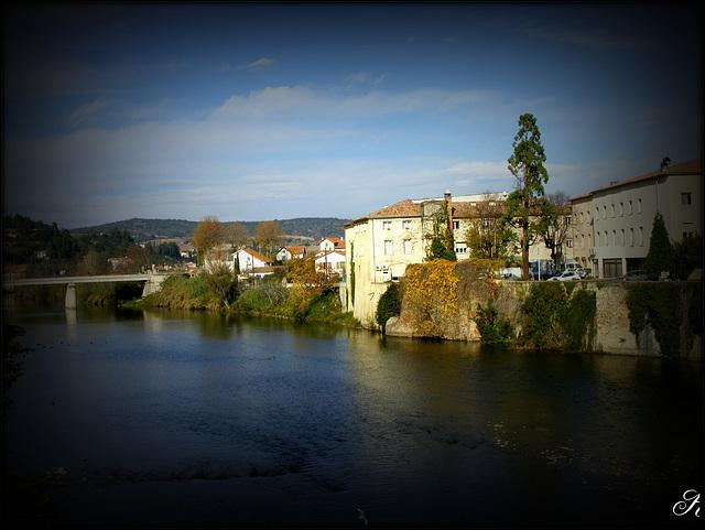 L 'Aude à Limoux