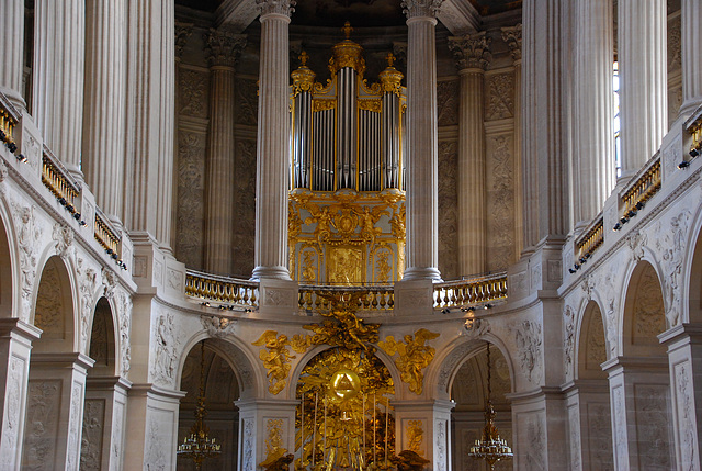 L'orgue de la Chapelle Royale